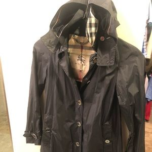 Burberry London Trench Coat with Detachable Hood